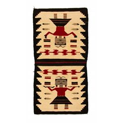 "Navajo Pictorial Weaving, 4'6"" x 2'4"""