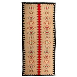 "Navajo Germantown Weaving, 8'5"" x 3'10"""