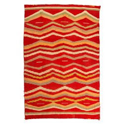 Navajo Germantown Weaving, 4' x 2'7""