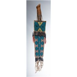 Cheyenne Beaded Knife Sheath