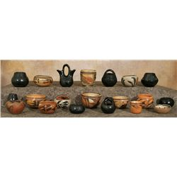 Collection of Native American Pottery