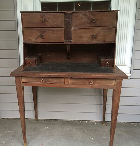 - Antique Post Office Desk