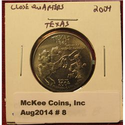 8. Close Quarters Parody Quarter – 2004 Texas, Home Of George W. BU sh