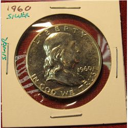 21.1960 P Proof Franklin Half.