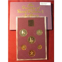 "554. 1980 ""The Coinage of Great Britain & Northern Ireland"" Proof Set. Some toning. In original hold"