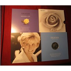 557. 1961-1997 Diana Princess of Wales Memorial Five Pound Crown in Special Commemorative Holder. Br