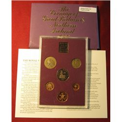 "561. 1980 ""The Coinage of Great Britain & Northern Ireland"" Proof Set. Some toning. In original hold"