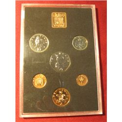 "562. 1971 ""The Decimal Coinage of Great Britain & Northern Ireland"" Proof Set. In original holder as"