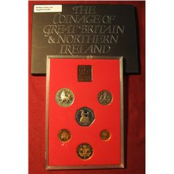 "563. 1981 ""The Decimal Coinage of Great Britain & Northern Ireland"" Proof Set. In original holder as"