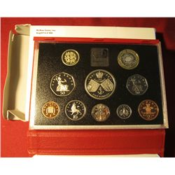"566. 1997  ""United Kingdom Proof Coin Collection"" Deluxe Proof Set in original holder as issued. Inc"