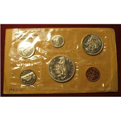 832.   1963 Canada Proof-like set, still in Mint cello, nice coins