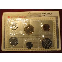 836.   1989 Canada Proof-like set, in original mint cello and envelope