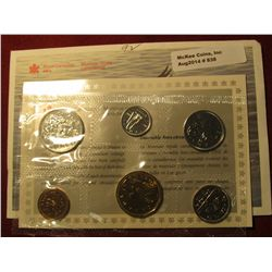 838.  1992 Canada Proof-like set, in original mint cello and envelope