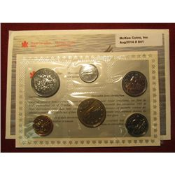 841.  1995 Canada Proof-like set, in original mint cello and envelope