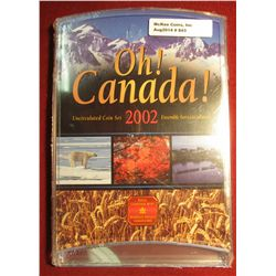 "843. 2002 Canada ""Oh! Canada!"" Uncirculated Coin set, sealed in original packaging"