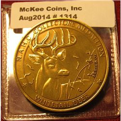 1314. NAHC Collector's Medallion Series 01 Whitetail Deer