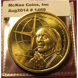 1469. 1997 Turks and Caicos Islands 5 Crowns commemorative coin – Mother Teresa