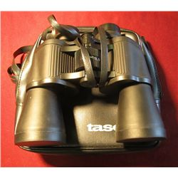 1600. Tasco 20 x 50 mm Binoculars in Carrying case.
