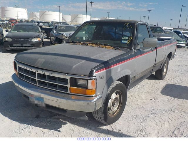 on 1991 Dodge Dakota Salvage