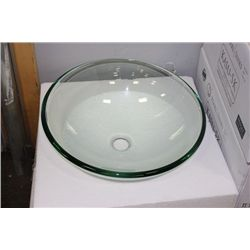 pearl sink casu g glass bowl style sink