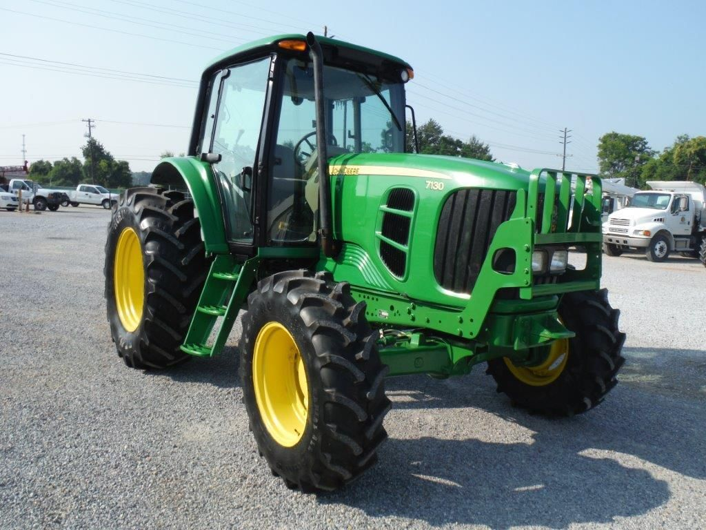 2010 john deere 7130 4x4 farm tractor s n l07130b628253 97 hp 3 pth pto 3 hyd remotes ecab. Black Bedroom Furniture Sets. Home Design Ideas