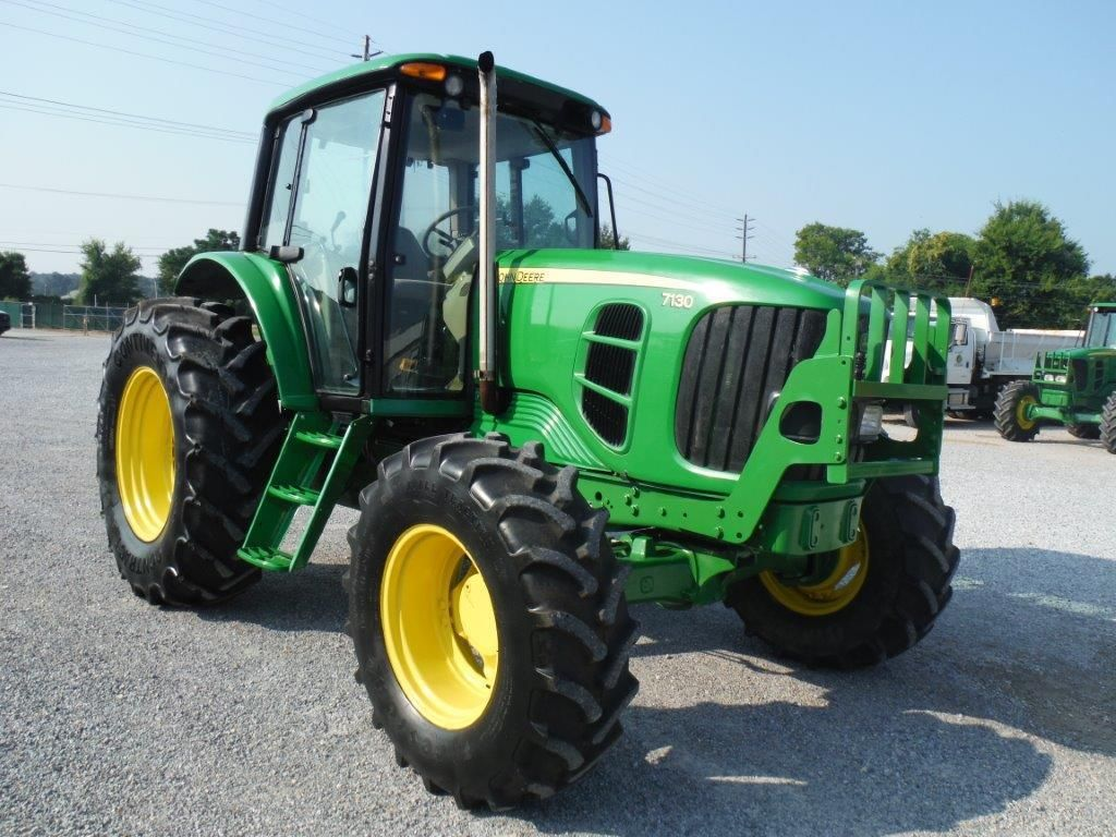 2010 john deere 7130 4x4 farm tractor s n l07130b628268 97 hp 3 pth pto 3 hyd remotes ecab. Black Bedroom Furniture Sets. Home Design Ideas