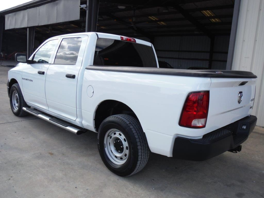 2012 dodge ram 1500 crew cab 4x4 pickup s n 1c6rd7kp7cs231590 v8 gas a t a c bed cover odomete. Black Bedroom Furniture Sets. Home Design Ideas