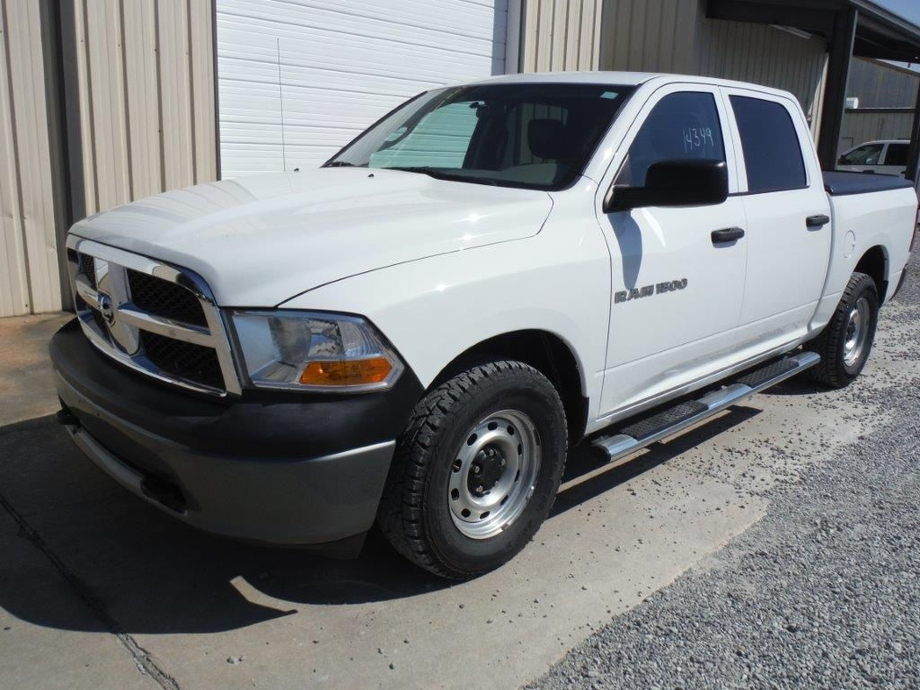 2011 dodge ram 1500 crew cab 4x4 pickup s n 1d7rv1cp4bs687536 v8 gas a t a c bed cover. Black Bedroom Furniture Sets. Home Design Ideas