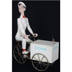 Americana Figural Ice Cream Man Display