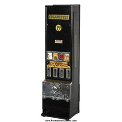 Coin-Op Cigarette Vending Machine