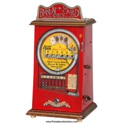 Barn-Yard Golf Coin-Op 1 Cent Skill Game