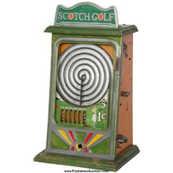 "1 Cent Coin-Op ""Scotch Golf"" Trade Stimulator"