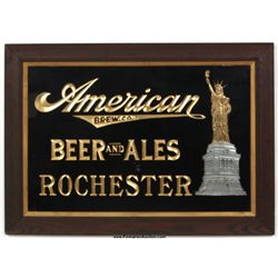 American Brewing Co. Embossed Advertisement