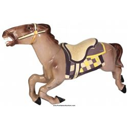 Forward Facing Jumper Carousel Horse