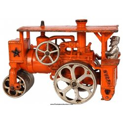 Hubley Huber Cast Iron Toy Steam Roller