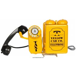 Yellow Cab Co. Taxi Telephone