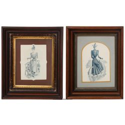 Pr. Early Framed Bicycle Illustrations