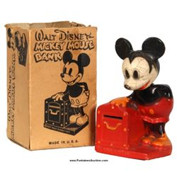 Mickey Mouse Crown Toy Bank