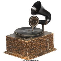 Miniaphone Toy Phonograph