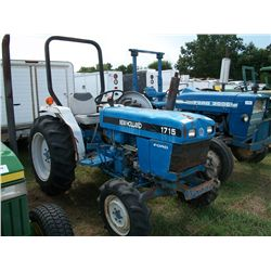 New Holland 1715 DIESEL TRACTOR, 4x4 Ser#:UK30963