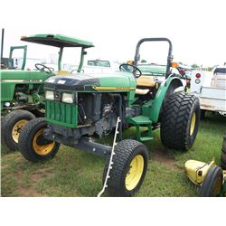 John Deere 5200 TRACTOR W/ POWER STEERING AND REMOTE HYDRAULICS Ser#:LV5200C111206