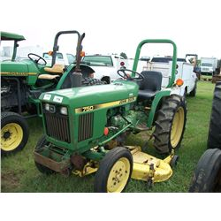 John Deere 750 TRACTOR W/ BELLY MOWER Ser#:S018529