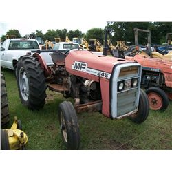 Massey Ferguson 245 DIESEL TRACTOR W/ POWER STEERING (NOTE: RADIATOR LEAKS) Ser#:9A43136