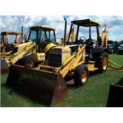Ford 555D LOADER BACKHOE Ser#:A419887