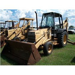 Ford 655C LOADER BACKHOE W/ CAB 4 IN 1 BUCKET & EXTENDAHOE Ser#:A412688