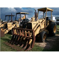 Ford 555B LOADER W/ STACKING RAKE Ser#:C776939