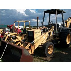 Ford 555C LOADER BACKHOE Ser#:A412650