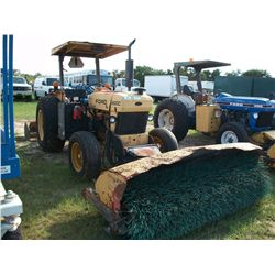 Ford 260C W/ CHALLENGER FRONT HYD BROOM ATTACHMENT AND BOX BLADE Ser#:BD87665