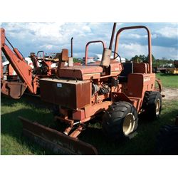 DITCH WITCH 5010 DD DIESEL TRENCHER W/ BACKFILL BLADE Ser#:500392