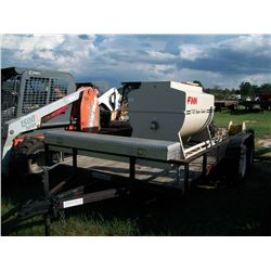 FINN T-30 HYDRO SEEDER W/ 15HP KOHLER MOTOR MOUNTED ON 14FT TRAILER Ser#:RU-521